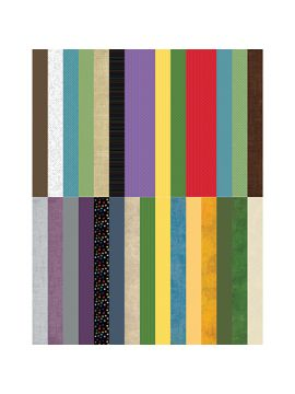 Pocket Wonder Designer Coordinates Border Strips by Lauren Hinds - Set 30