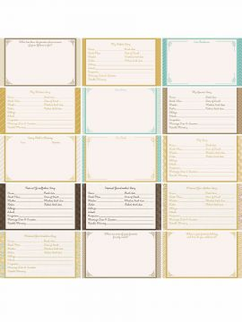 Miracles and Milestones by Katie Pertiet Designer Journal/Mounting Cards