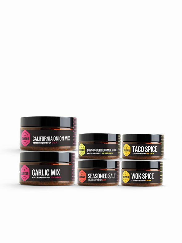 Saveur Bronze Essentials Pack