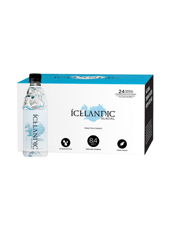 Icelandic Glacial Natural Spring Water - 500 ML