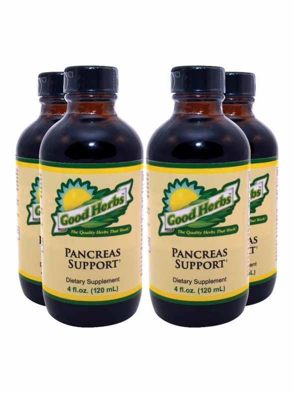 Pancreas Support (4oz) - 4 Pack