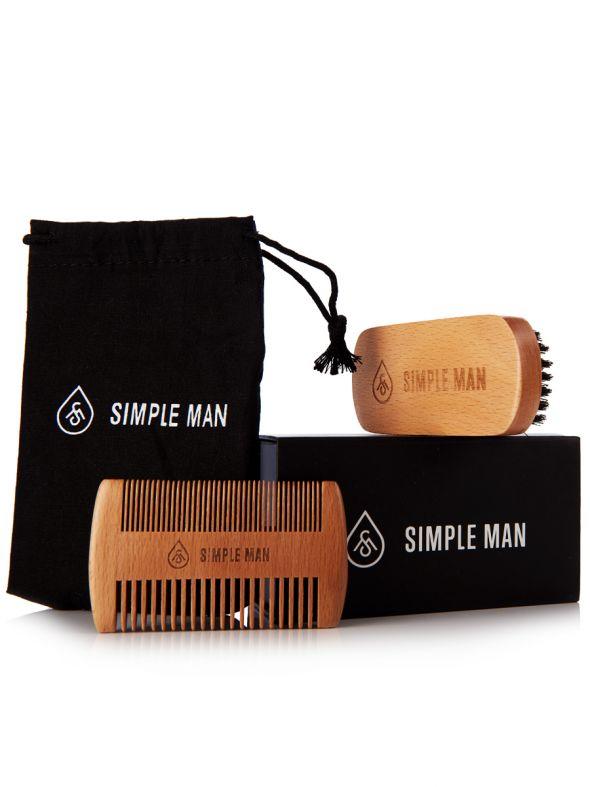 Simple Man Beardsmith Set