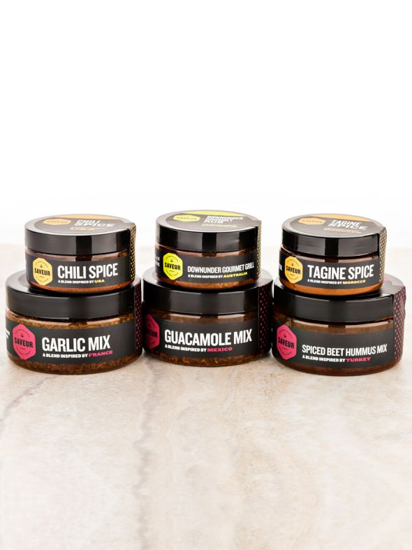 Saveur Foods Small Social Kit
