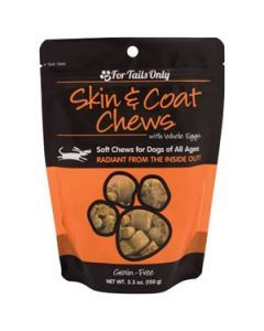 FTO Skin & Coat Chews for Dogs - 5.3 oz. Bag