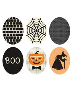 Halloween Oval Locket Backdrops