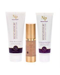 Muscadine 20 Skin Care Gold Bag Bundle (3pc)