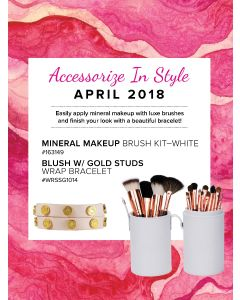 Mineral Makeup of the Month Club - April 2018