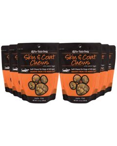 FTO Skin Coat Chews for Dogs - 6 Pack